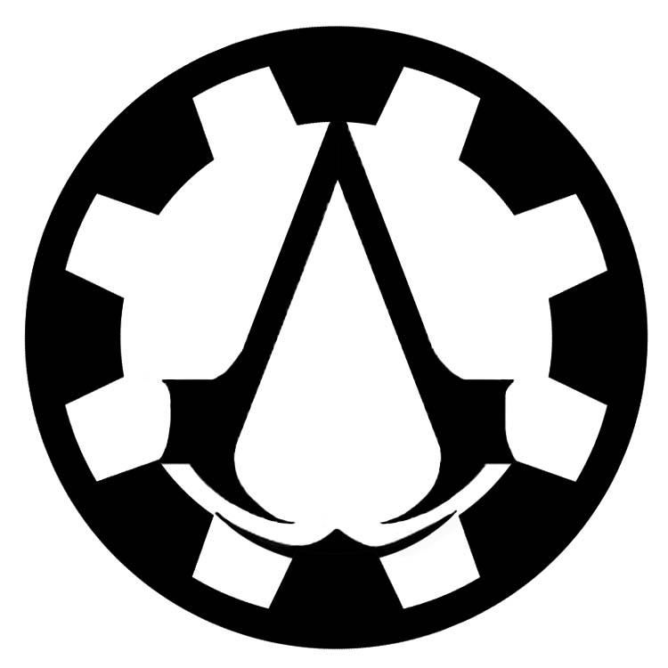 Steampunk Assassins Creed Symbol Design 1 By Eryn Grace Omalley On