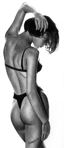 lady in black by zaphod66