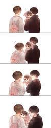 Taekook family by dandnoni