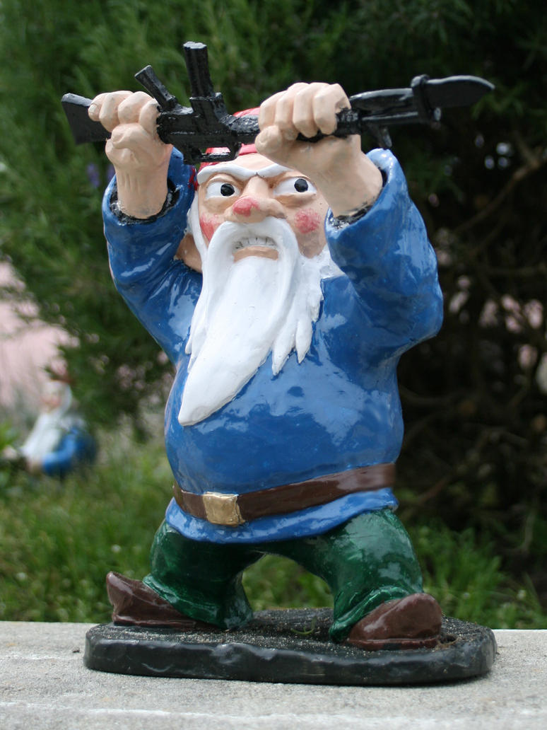 Bayonet Attack Gnome Full Length By Thorssoli On Deviantart