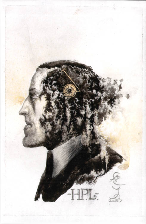 H. P. Lovecraft by s-caruso