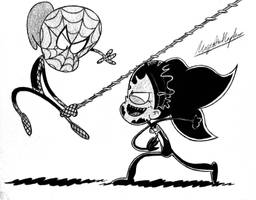 [REQUEST] Spider-Lynn VS Venom Anne by MajesticKapten