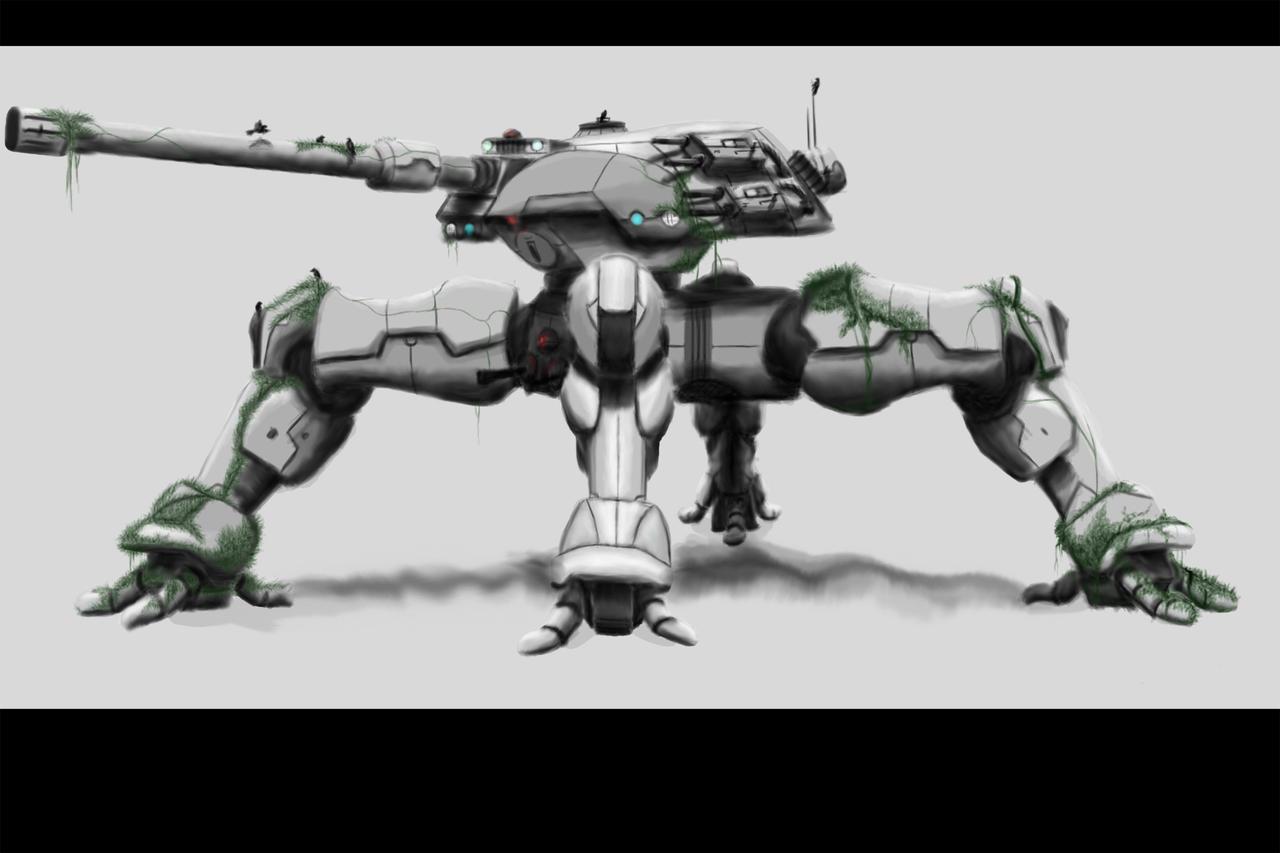 Spider Tank In Progress by ShaneNelson