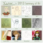 Xechon's 2013 Summary of Art