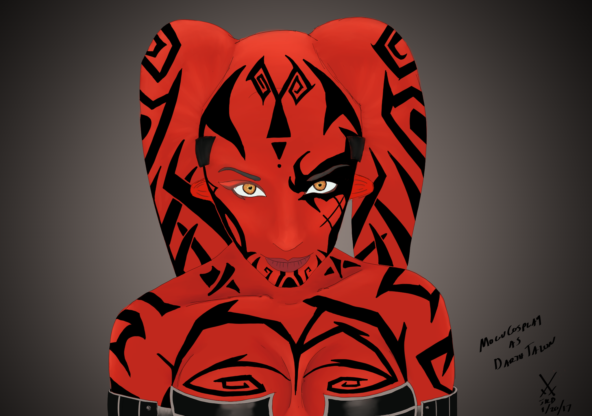 MoguCosplay As Darth Talon by xechon