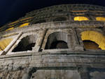 Flavian Amphitheatre (Colosseum) at Night