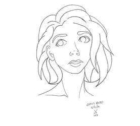Emily Rudd Lines by xechon