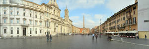 Early Morning in Piazza Navona