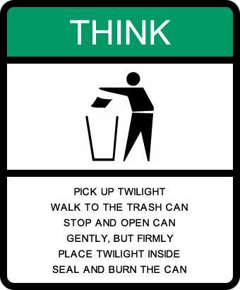 Trashy Book twilight by WolfeDreames