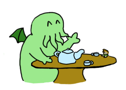 Did you just draw Cthulhu by Icon109