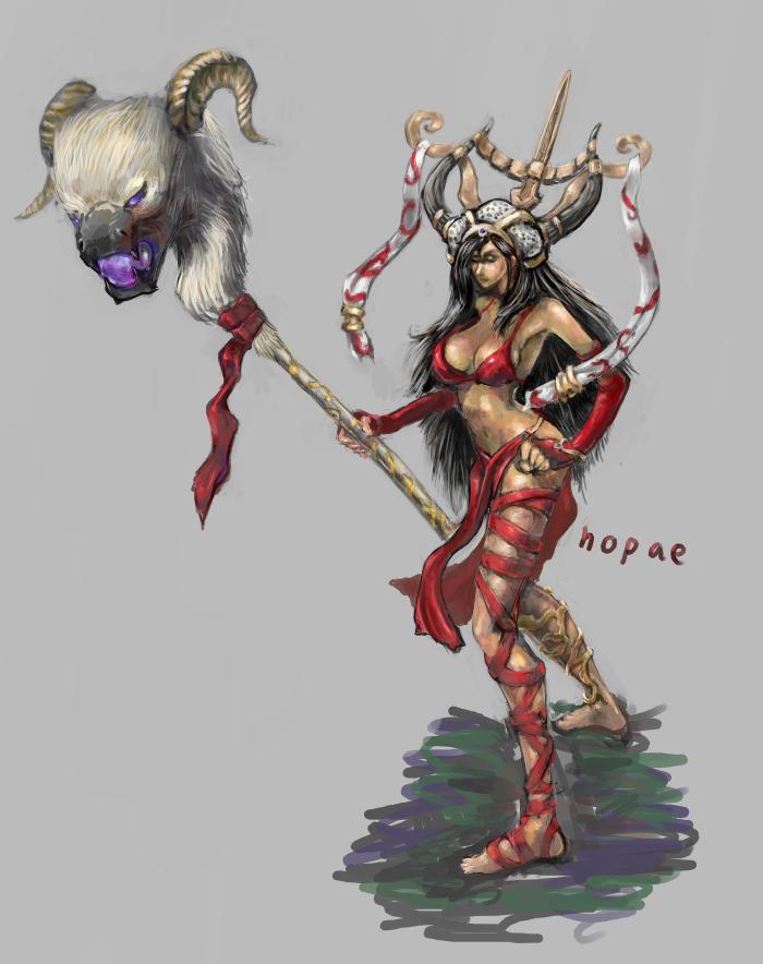 heroes of newerth Ophelia by nopae
