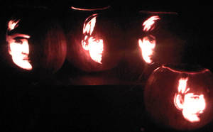The Beatles Carve