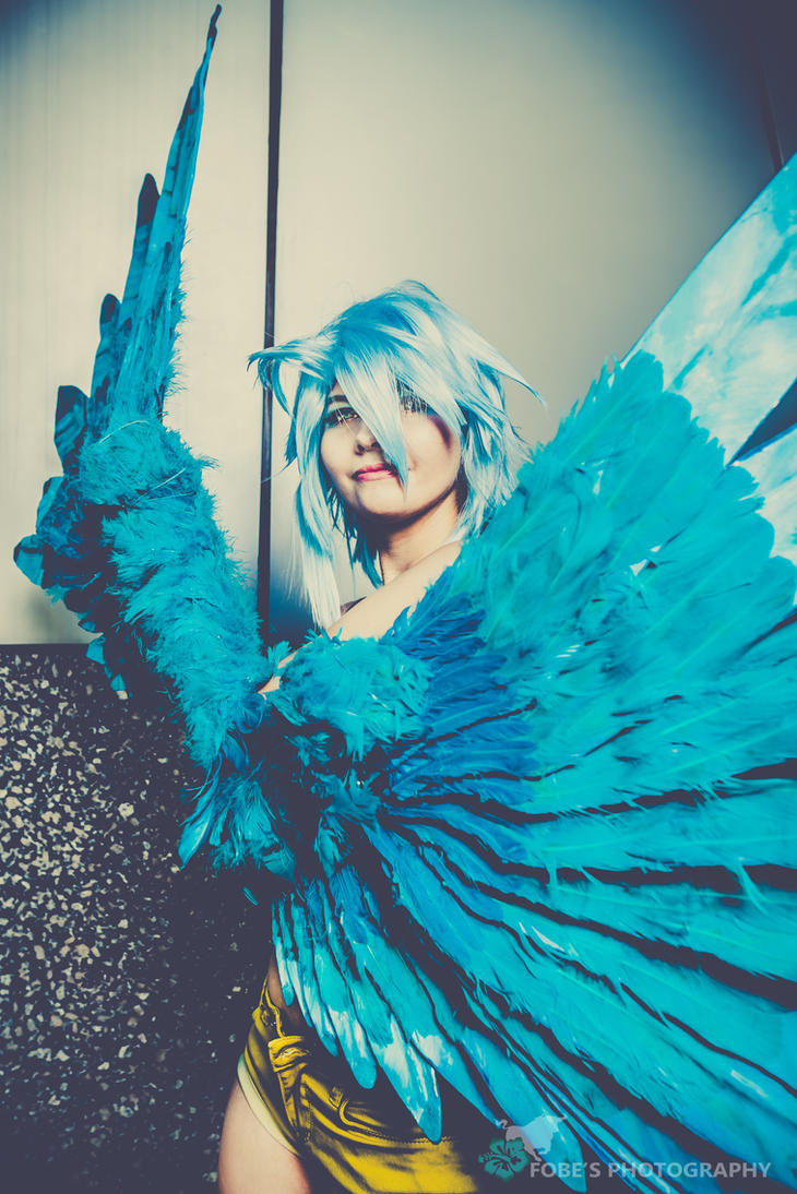 the harpy cosplay Papi