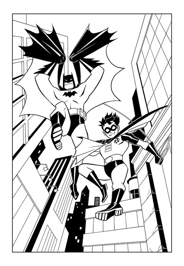 batman robin coy by kikicianjur
