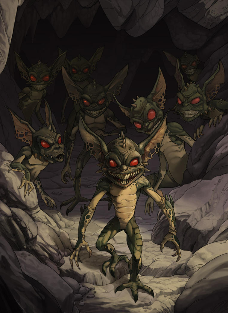Gremlin by kikicianjur
