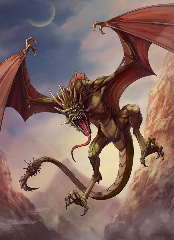 Wyvern Dragon: Wyvern By Kikicianjur On DeviantArt