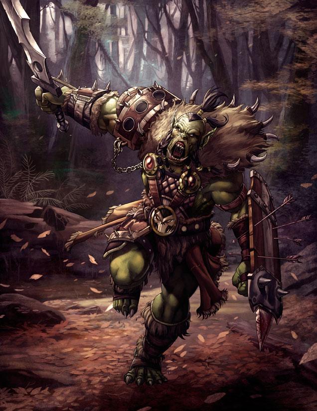 Savage Orc by kikicianjur
