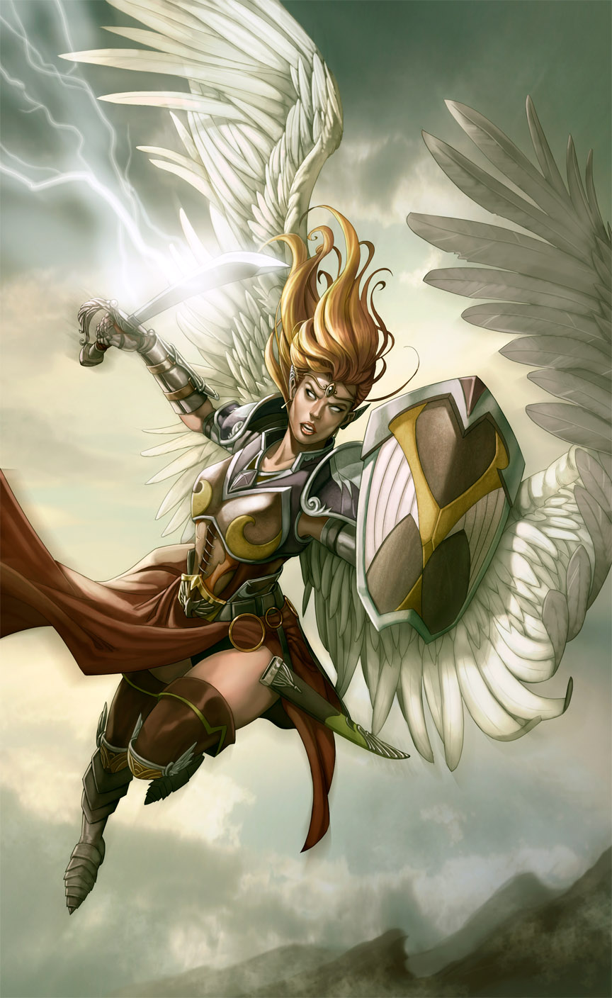angel warrior by kikicianjur on DeviantArt