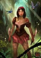 Snow White by kikicianjur