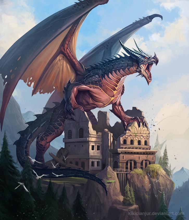 Draco Lvl2 by kikicianjur