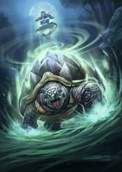 Turtle Spirit Lowres by kikicianjur