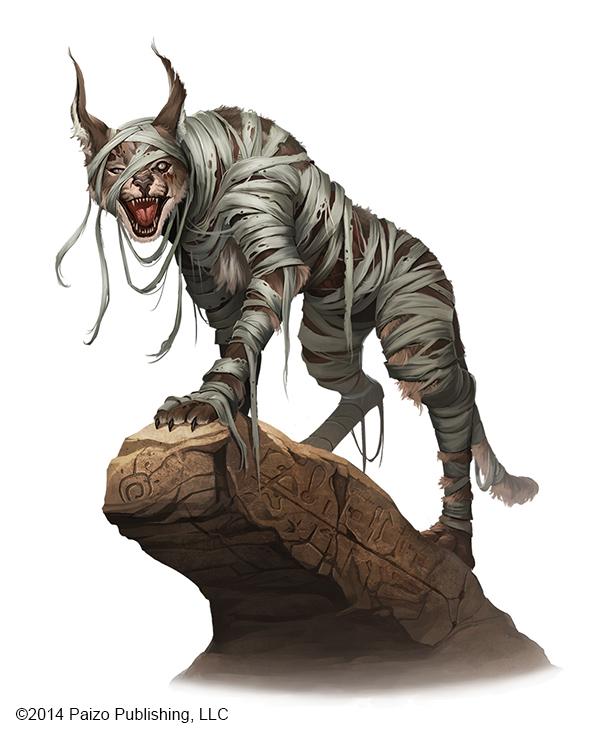 Lynx Mummy by kikicianjur