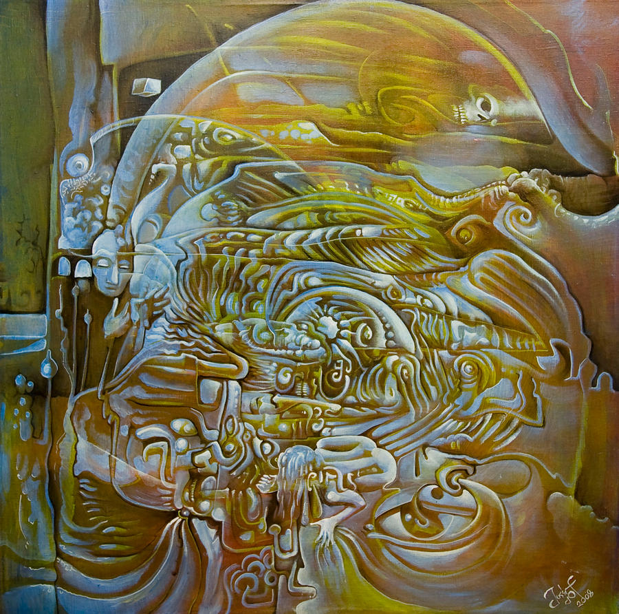 The fractal inside my head by jlof