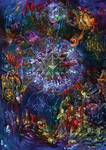 Psychedelic Mandala Yantra