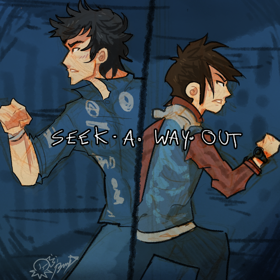 Seek A Way Out by BusyBuzu