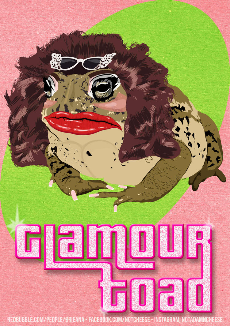 Glamour Toad by Brieana