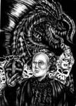 Damodar And Black Dragon D and D by emeraldnephilim8