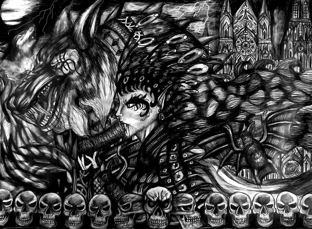 QUEEN OF DARK DESIRE by emeraldnephilim8