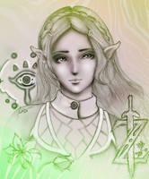 Princess Zelda by Kohrin-Reema