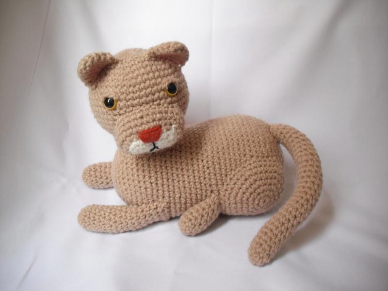 Mountain Lion Amigurumi : Chilean cougar by Pachyblur on DeviantArt