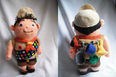 Russel from Up Movie by Pachyblur