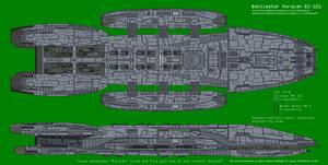 Battlestar Huracan BS-101