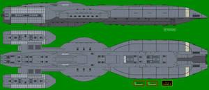Battlestar Atlantis BSG-180