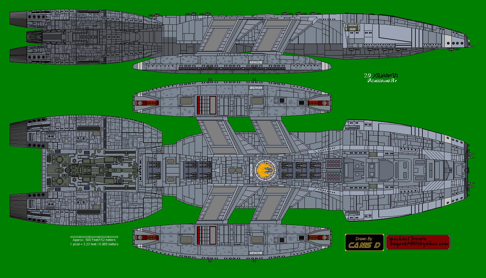 Battlestar Apache UNSC mod