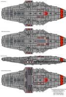Cygnus class Gunstar internals by XRaiderV1