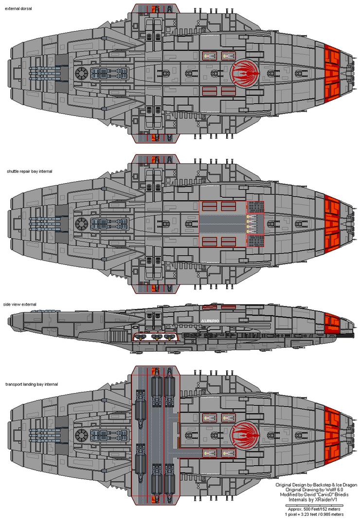 Cygnus class Gunstar internals by XRaiderV1 on DeviantArt
