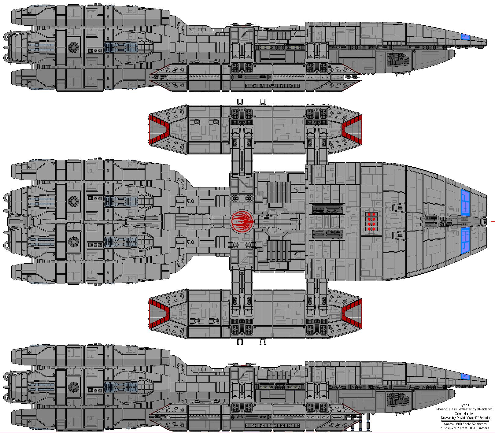 phoenix class battlestar