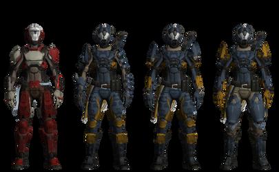 Awakened Titan Viola1 by XRaiderV1