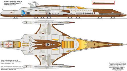 Ad Astra class ebon hawk refit by XRaiderV1