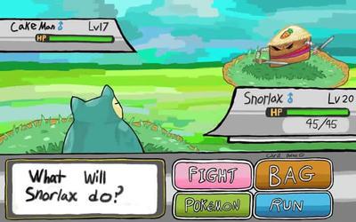-Pokemon battle- by PezMiNT