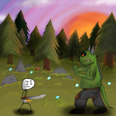 Stickman battle by PezMiNT