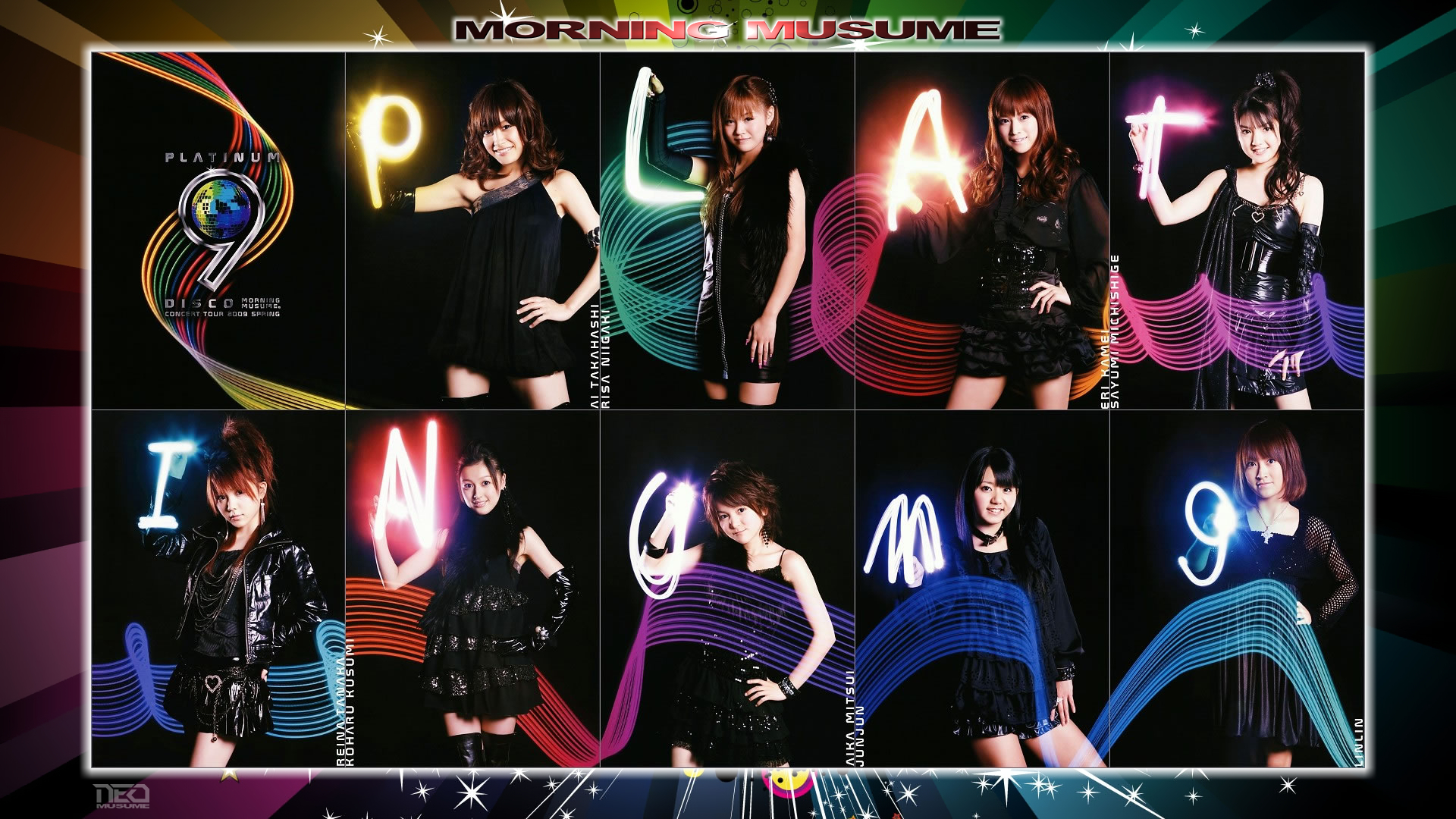 Morning Musume Platinum 9 by NEO-Musume