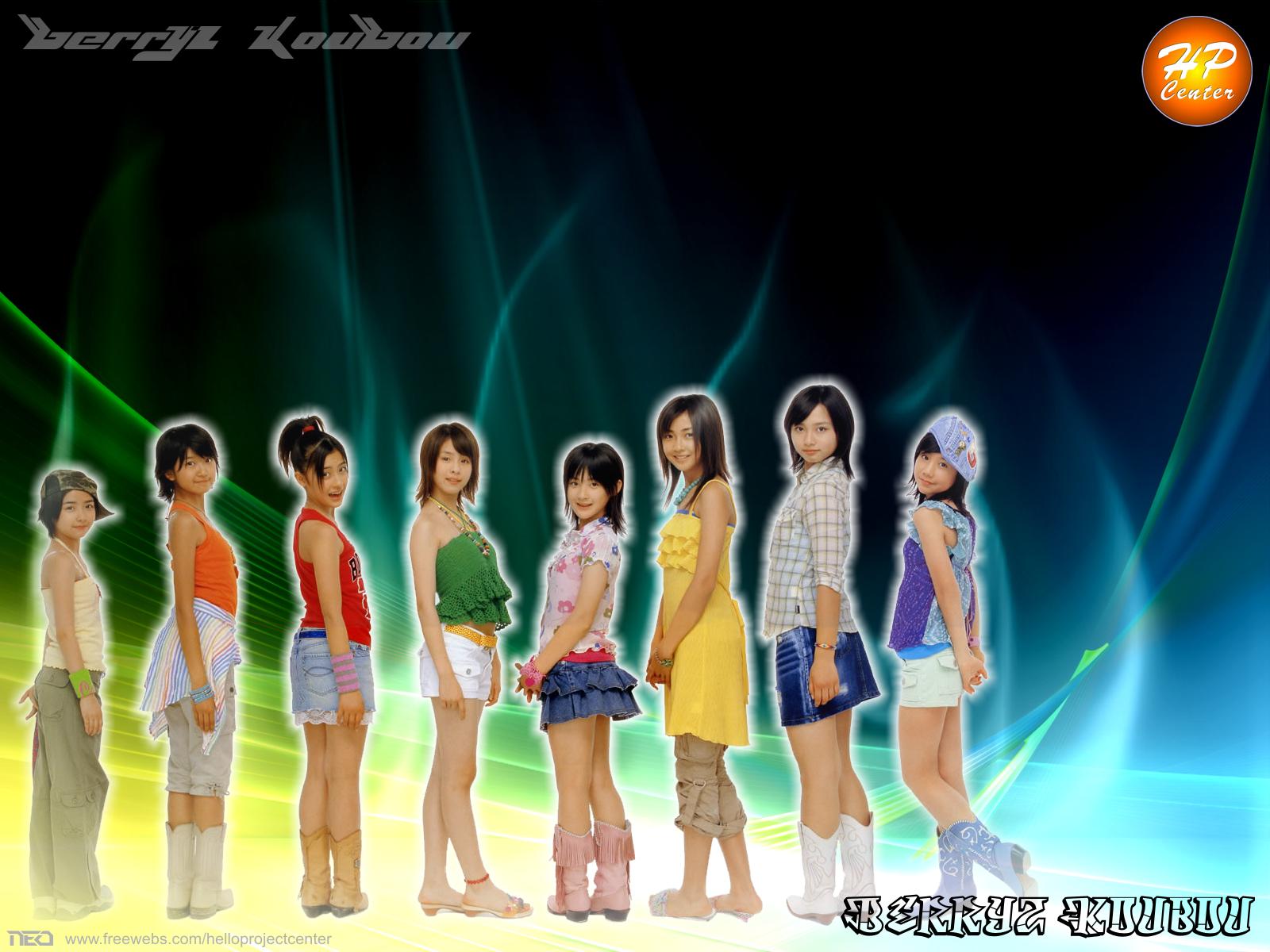 Berryz Koubou fashion by NEO-Musume
