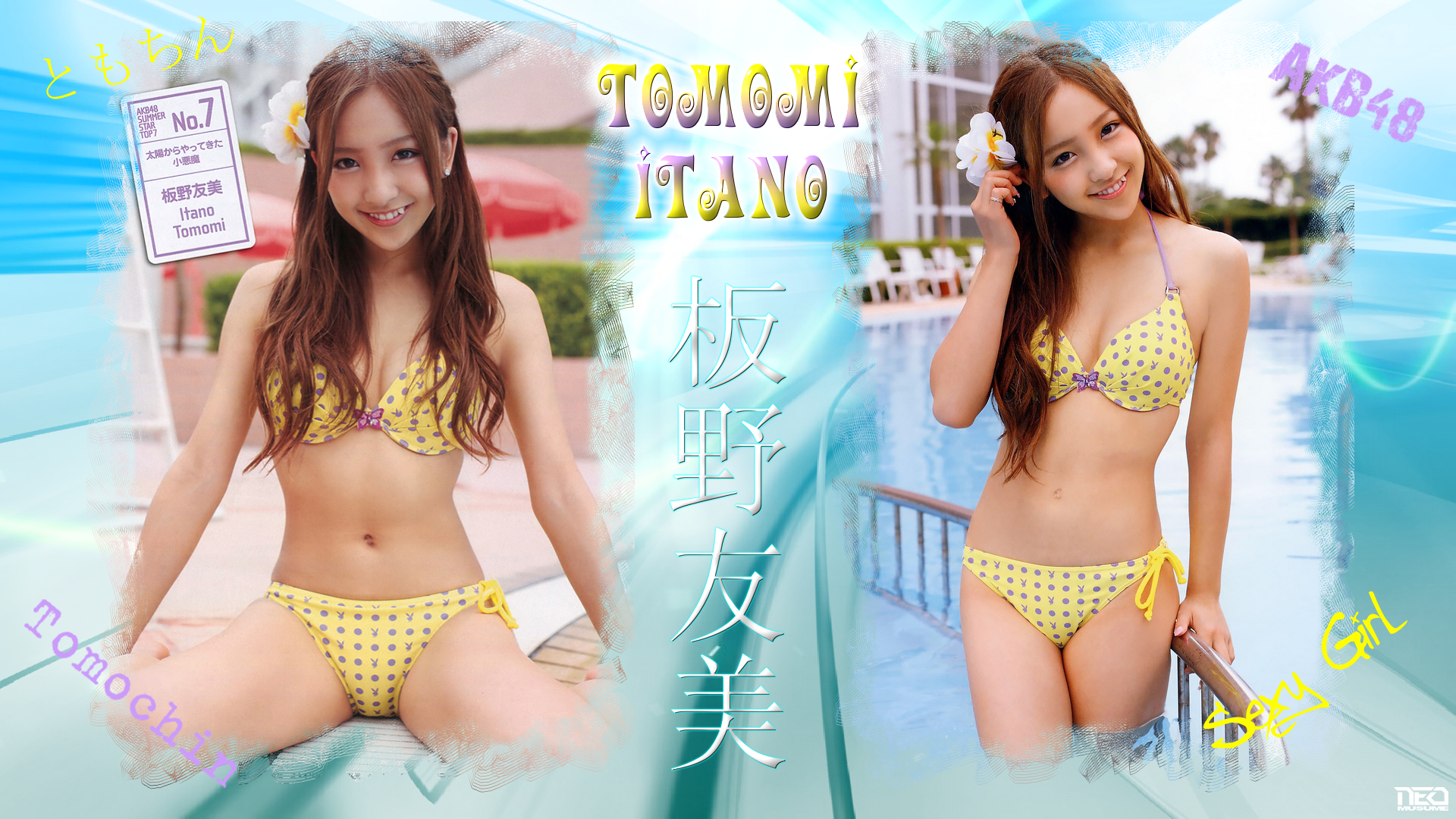 Sexy Tomomi Itano by NEO-Musume