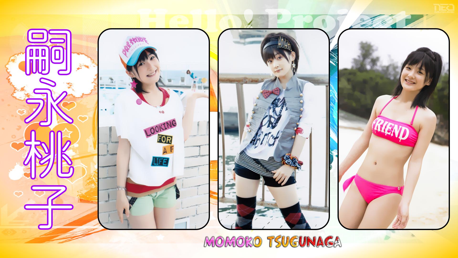 Momoko X3 by NEO-Musume