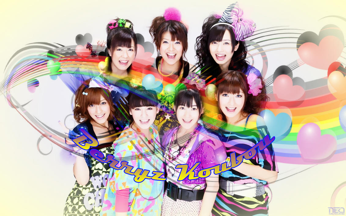 Rainbow Berryz by NEO-Musume